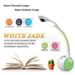 Wholesale Free Picture Camera - 2016 new smart intimate Lamp baby Monitor for android and IOS with wireless ip camera support for remote camera picture sharing Free DHL