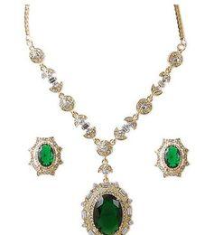 Wholesale Diamond Earings Set - more oclor diamond waterdrop lady's bride wedding set necklace(38+6cm) earings(2*1.8cm) (woniu152)
