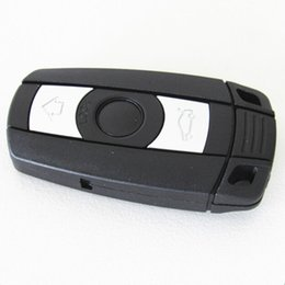 Wholesale Bmw Key 868mhz - Car remote key 3 buttons 868MHZ for BMW 1,3,5,6,X5,X6,Z4 series remote control with 868MHZ id7944 CHIP