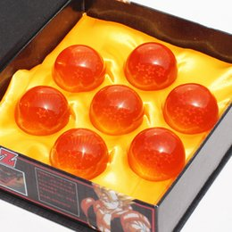 Wholesale New Year Boxes - Animation DragonBall 7 Stars Crystal Ball 4.5cm New In Box Dragon Ball Z Complete set toys 7pcs set