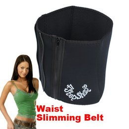 Wholesale Tummy Tuck Body Shaper - 2015 hot Waist Slimming Belt Adjustable Girdle Body Shaper Tummy Tucking Fat Slim Shaping 4 Steps black color