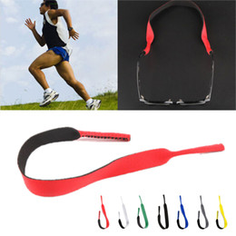 Wholesale glasses head band - Interchangeable with summer Sunglasses Band Strap Neoprene string rope Eyeglasses Strap Head Band Floater Cord Glasses Band 3pcs