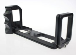 Wholesale Hand Grip Camera - Wholesale-Custom Aluminum Hand Grip w  Quick Release L-Bracket for X-PRO1 Camera Arca Type L Plate