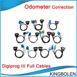 Wholesale digiprog bmw - Full Set Cables for Digiprog III Digiprog 3 Odometer Correction Tool Free Shipping In stock