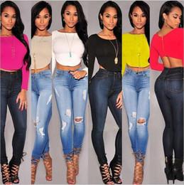 Wholesale Brown Womens Crew - 2016 Fashion Sexy Womens Cropped Top T-shirt Female Long Sleeve Crop Tops Back Zipper T Shirt Tees Tshirt Black White Gray Camiseta Feminina