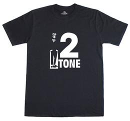 Wholesale Post Music - Ska 2 Tone Music Reggae Punk 1970's Retro Mens T-Shirt Free Post U.K Fashion Logo Printing T Shirts