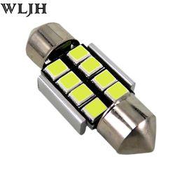 Wholesale audi led door - WLJH Error Free Led C5W 31 36 39 41mm Car Interior Dome Light Number Plate Festoon CANBUS 2835 SMD LED Globe BULB 12v