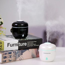 Wholesale Mini Electric Cooker - Electric Cooker Diffuser Aromatherapy Air Usb Humidifier Aroma Diffuser Mini Touch Button Essential Oil Diffuser Home Office Mist Maker