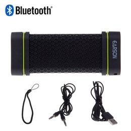 Wholesale Metal Dust Proof Phone - EARSON ER151 Wireless Bluetooth Stereo Speakers Waterproof Dust-Proof Shockproof Speaker For phone for tablet pc ZM00072