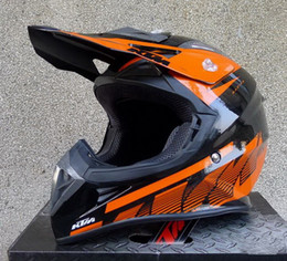 Wholesale G Made - 2015 New KTM cross-country motorcycle helmet off road motorbike helmet send FREE goggles Made of ABS weight 1380 g