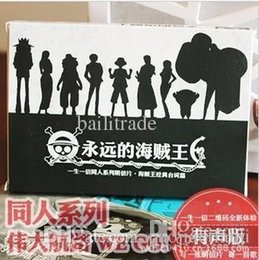 Wholesale One Piece Paper Box - 2015 Greeting Card [forever One Piece]king Of Pirate Japanese Cartoon Boxed Postcard Original Colleagues 30pcs set Free Shipping