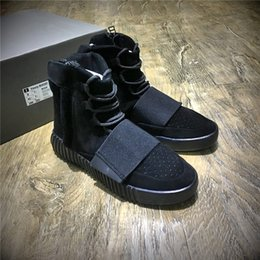 Wholesale Bag For Shoes Sport - (With Box+Dust Bag+Lace) Size US5-US14 Kanye West Boost 750 Running Shoes for Men Real Boost Men's Shoes Boots Sports Shoes Sneakers