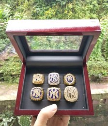 Wholesale Accessories Wholesale New York - (gold plated )6pcs set+box New York gifts The championship ring is an accessory for a fashion handbags