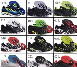 Wholesale Tn Sneakers - 60 Colors (With Box) Wholesale New Model High Quality Hot Sale TN Men's Running Sport Footwear Sneakers Shoes ( 46 ----- 54 )