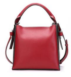 Wholesale Designe Handbags - new Women Bucket Bag Genuine Leather Handbags High Quality Women Genuine Leather Bag Fashion Brand Bag Designe