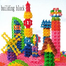 Wholesale Education Piece - free shipping 600pcs lot Toy block piece together Toy block Fancy early education toys children toy building block building blocks Toy bloc