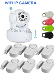 Wholesale Audio Access - Wireless IP Camera WiFi Security Surveillance Dual Audio Night vision PNP Webcam NIP-02 Wireless IP Camera P2P door alarm bluetooth