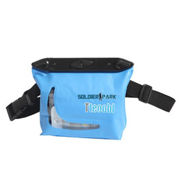 Wholesale Tteoobl Bags - Tteoobl Waterproof PVC Waist Pouch Swimming Diving Skiing Camping Driving Safety Mini Storage Bag with Adjustable Belt * order<$18no track