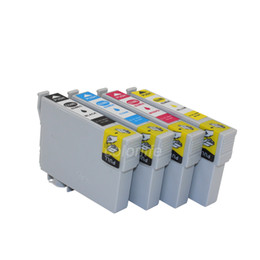 Wholesale Compatible Ink Epson - On Promotion!!T220XL Compatible ink cartridge T2941-T2944 for Ep WF-2630 2650 2660 inkjet printers,3 sets 1 lot