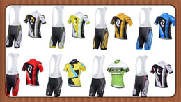 Желтый цвет онлайн-Wholesale-Free Shipping 8 styles Summer Cycling Clothing 2015-2015 Scoot Black White Yellow Cycling Wear Bike Jersey And Set
