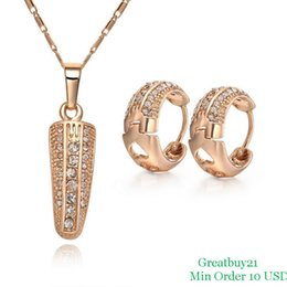 Wholesale Earrings Hoop 18kgp - ashion Jewelry Jewelry Sets 18KGP-S039 Free Shipping High Quality African Jewelry Sets 18K Gold Plated Corn Necklace & Hoop Earrings ...