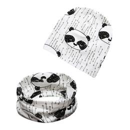 Canada Nouveau Posh Animal Imprimé Crochet Bébé Chapeau et Écharpe Ensemble Hiver Automne Coton Fille Garçon Bonnet Chapeau Écharpe cheap animal scarf hat crochet Offre