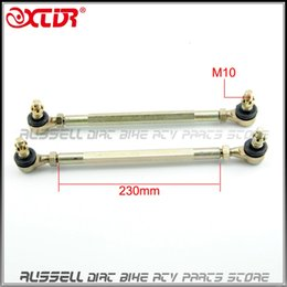 Wholesale Goes Atv - Wholesale- Chinese ATV Quad GO Kart Spare Parts 230mm Joint Ball Tie Rod Turn Shaft Assy Fit M10