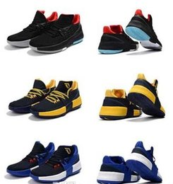 Wholesale usa cities - Bounce Techifit Lillard Dame 3 Basketball Shoes AAAA High Qulity Roots CNY Rip City Wholesale Mens Sizes USA 7-12 Sneaker New Discuont