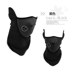 Wholesale Face Mask Bicycle - Outdoor Sport Winter Ski Skiiing Mask Men Women Bike Mask Neck Warm Half Face Masks For Cycling Motorcycle Bicycle High Quality