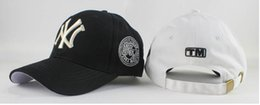 Wholesale Ny Pink - Ms male couples of baseball cap cap embroidery NY letter outdoor sun shade the sun hat