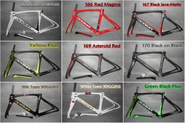 Wholesale Road Bike Carbon 53 - Good quality 2 years warranty T1000 3K 1K carbon road frames F10 with BB30 BSA size 44-46.5-50-51.5-53-54-55-56-57.5-59.5cm free shipping