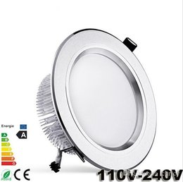 Wholesale Led Spot Light Kit - Super bright LED downlight kits 3W 5W 7W 9W 12W 15W 18W 21W LED Ceiling Wall spot light 110-240V Recessed lamp with Driver for home light