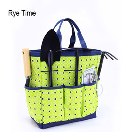 Wholesale Green Garden Tools - New Arrivals Gardening Tote Bags Women 'S Cosmetic Bag Tool Fashion Orgnizer Bags In Bag Washing Bag 3 Piece Set