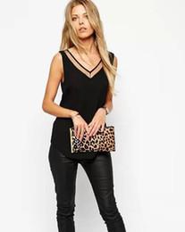 Wholesale Elegant Ruffled Blouses - S-2XL new Ladies women chiffon blouse sleeveless shirt Tops summer casual shirts New Blusas Ladies OL Elegant women summer tops XXL 22308