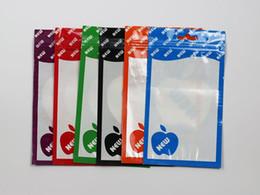 Clear Colors Poly Bags OPP Packing Zipper Lock Paquetes Accesorios PVC Retail Boxes Handles para iPhone móvil Teléfono celular Samsung DHL Post desde fabricantes