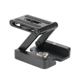 Wholesale Z Flex - Z type tilt tripod heads Flex folding Z pan Stand Holder for Canon Nikon Sony DSLR camera Aluminum alloy Top quality
