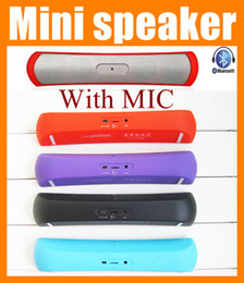 Wholesale Mini Speakers Long - Newest Luxury Bluetooth mini speaker Long Strip portable loud speaker pop rock portable usb outdoor mobile music PC mp3 speaker box MIS031