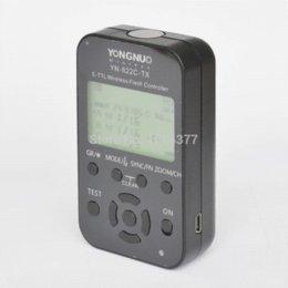 Wholesale Trigger Flash 622c - Yongnuo Flash Controller Trigger Transmitter LCD YN-622C-TX for Canon 1100D 1000D 650D 600D 550D 500D 60D 5D 5DII 5DIII 7D 1D