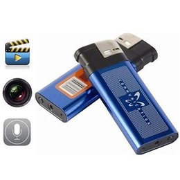 Wholesale Spy Photo Camera - Mini lighter Camera mini DV video camera Lighter Spy Cameras portable Video And Photo Recording video