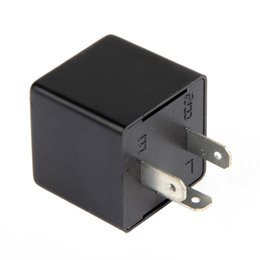 Wholesale Electronic Flasher - New 3-Pin Electronic Car Flasher Relay to Fix LED Light Blink Flash 12V Kpx G0125 W0.5