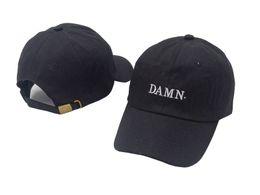 Wholesale Fitted Trucker Hats - free shipping new cross Panel men women Hat wiz khalifa snapback trucker golf DAMN Baseball Caps sun bonnet