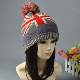Wholesale Woollen Caps Men - Fashion Street Hats Spring Winter Women And Men Knitted Hat Girls Boys Cloches Caps Woollen Hat Winter Hats Christmas Cap ZJ-H62