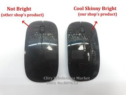 Wholesale Apple Macbook Mouse - Wholesale-Hot Sale Promotion 2.4 GHz Many color Wireless USB Optical Mouse for APPLE Macbook Mac Mouse, Free & Drop Shipping