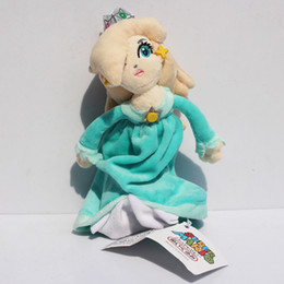 Wholesale Girl Mario Games - 18cm Super Mario Princess Rosalina Plush Toy With Tag Soft Dolls Gift For Girl Free Shipping