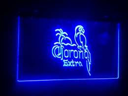 Wholesale Corona Neon Beer Lights - b-40 Corona Beer OPEN Bar Pub Club LED Neon Light Sign