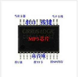 Wholesale Function Ic - 100PCS LOT mp3 voice ic chip support for renaming functions+free shipping