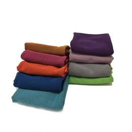 Wholesale Wholesale Super Absorbent Towels - Cool Towel 3D Super Cooling Towels Cooling Effect Sweet-Absorbent Dry Quickly Instant Cooling Refreshing Breathable Summer Towel wen4662