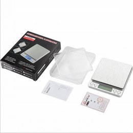 Wholesale Weigh Platforms - New 500g *0.01g Digital Platform Jewelry Scale Weighing Balance with Two Trays g ct dwt ozt oz gn