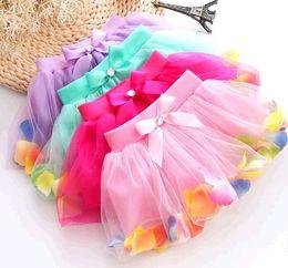Argentina Cute Baby Girl Skirt Kids Cute Princesa Clothes Gift Pettiskirts Toddler Ball Gown Party Kawaii TUTU Faldas Vestidos de las muchachas de las flores Kids Wear Suministro