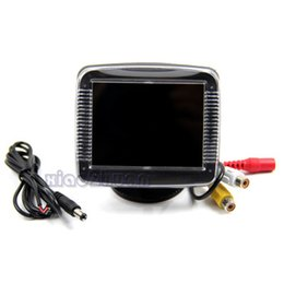Wholesale Hdmi Reverse Camera - car dvr New 3.5 Inch TFT LCD Screen Monitor Reverse Camera Car Rear View Backup